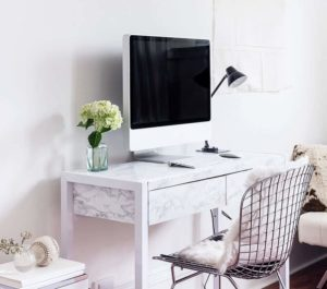 home workspace digital papercuts