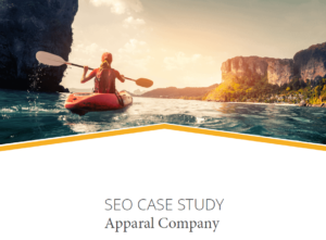 seo case study apparal company