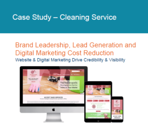 Cleaning service case study digital papercuts
