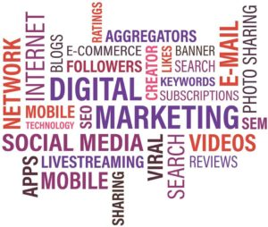Digital Marketing common word phrases image