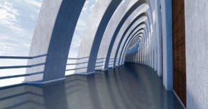 Digital Papercuts Huntington Beach Hallway