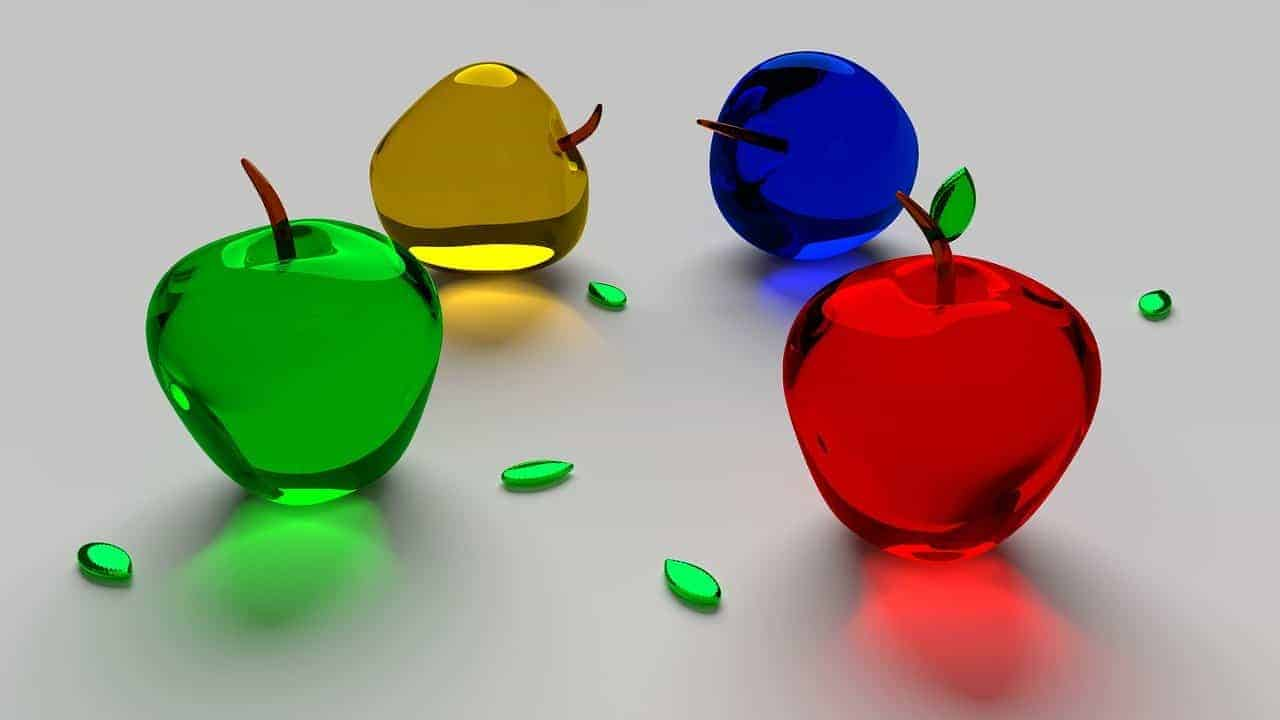 Digital Papercuts SEO D Glass AApples