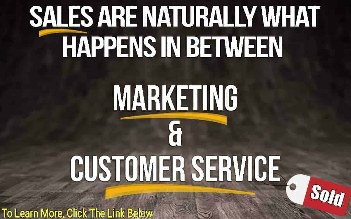 Marketing and customer service image