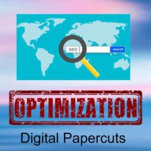 seo optimization digital papercuts