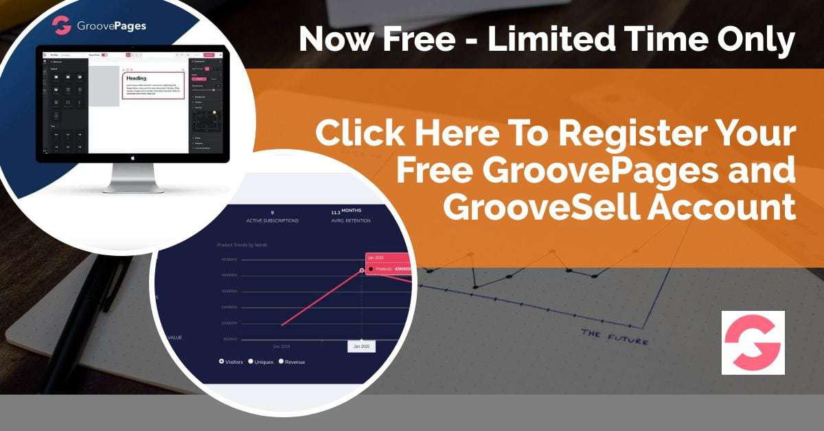 Free Groovepage Account Signup