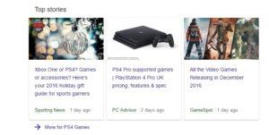 Google News Top Stories