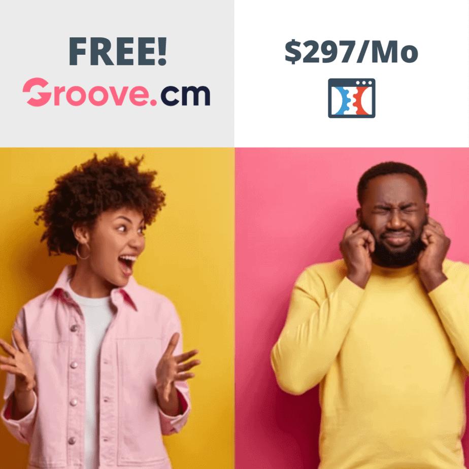 Groove.cm vs clickfunnels