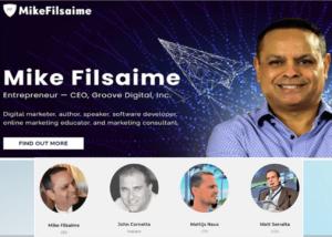 Groove.cm executive team Mike Filsaime