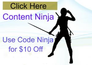 Content Ninja Discount Code
