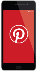 Pinterest on phone