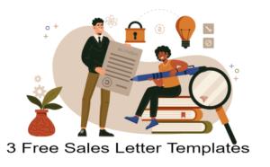 Sales Letter Templates